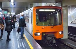 Bỉ mở cửa trở lại các tuyến tàu điện ngầm tại Brussels