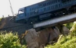 Tàu trật bánh tại Cuba, 45 người bị thương