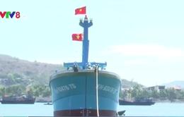 Khánh Hòa hạ thủy tàu vỏ composite thứ 4