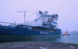 Tàu phá băng thân thiện với môi trường đầu tiên trên thế giới