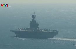 Pháp không kích IS từ tàu sân bay Charles de Gaulle