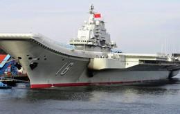 Nhật Bản theo dõi tàu sân bay Trung Quốc