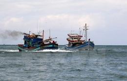 Khẩn trương cứu nạn 11 ngư dân Quảng Ngãi
