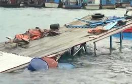 Va chạm tàu ở Khánh Hòa, một tàu du lịch bị chìm