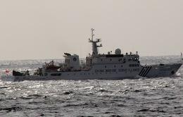 Tàu Trung Quốc lại đi vào lãnh hải Nhật Bản