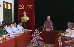 Tổng Bí thư Nguyễn Phú Trọng thăm tỉnh Điện Biên