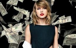 Taylor Swift kiếm tiền giỏi nhất thế giới