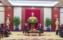 Tổng Bí thư Nguyễn Phú Trọng tiếp Đoàn đại biểu Đảng Cộng sản Mỹ