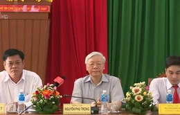 Tổng Bí thư làm việc tại Phú Yên