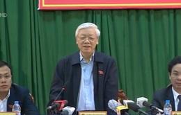 TBT Nguyễn Phú Trọng: Tinh thần là phải bắt bằng được Trịnh Xuân Thanh