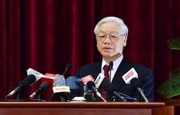 Phát biểu của Tổng Bí thư Nguyễn Phú Trọng bế mạc Hội nghị lần thứ tư Ban Chấp hành Trung ương Đảng khóa XII