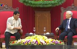 Tổng Bí thư Nguyễn Phú Trọng tiếp Tổng thống Philippines