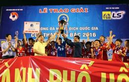 Chung kết giải bóng đá nữ VĐQG 2016: CLB TP Hồ Chí Minh I bảo vệ thành công chức vô địch