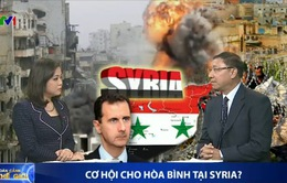 Đàm phán hòa bình cho Syria: Thời hạn 6 tháng là quá lạc quan