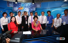 Báo chí quốc tế đánh giá cao Trung tâm truyền hình quốc tế - IBC của Đài THVN