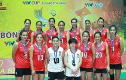 ĐT bóng chuyền nữ Việt Nam giành ngôi Á quân tại VTV Cup 2016 – Tôn Hoa Sen