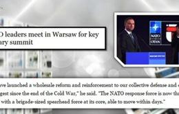 """""""Nóng"""" quan hệ Nga - NATO tại Hội nghị thượng đỉnh NATO"""