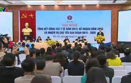 Thủ tướng dự Hội nghị tổng kết năm 2015 ngành y tế