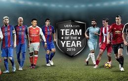UEFA công bố danh sách rút gọn cho danh hiệu 'Đội hình xuất sắc nhất năm 2016'