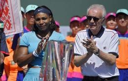 Coi thường Serena và phái yếu, Trưởng BTC giải Indian Wells từ chức