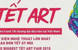 """Chợ tranh """"Tết Art 2016"""": Tinh hoa hội tụ"""
