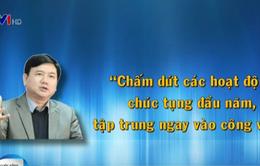 Dấu ấn tuần làm việc đầu tiên của Bí thư Thành ủy Đinh La Thăng
