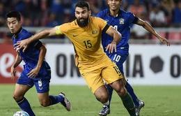 ĐT Thái Lan gây sốc trước Australia tại vòng loại World Cup