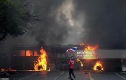 Thái Lan: 11 người chết cháy trong tai nạn giao thông