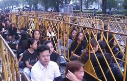 Thái Lan thắt chặt an ninh trong lễ viếng Nhà vua