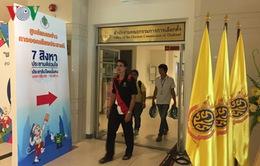 Kết thúc trưng cầu ý dân về Hiến pháp mới tại Thái Lan
