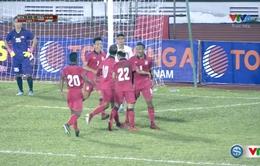 VIDEO: Samphaodi đệm bóng cận thành, gỡ hoà cho U21 Thái Lan