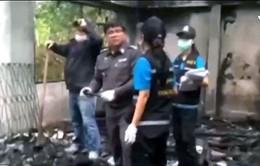 Cảnh sát Thái Lan điều tra nguyên nhân vụ cháy kí túc xá