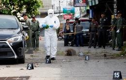Thái Lan truy nã một nghi phạm sau loạt vụ đánh bom