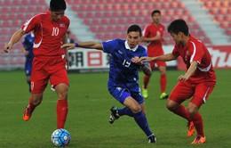 Hòa kịch tính CHDCND Triều Tiên, U23 Thái Lan theo chân Việt Nam rời giải