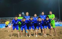Đại thắng Lào, ĐT bóng đá bãi biển Thái Lan tranh ngôi đầu bảng với Việt Nam