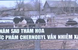 30 năm sau thảm họa hạt nhân, thực phẩm ở Chernobyl vẫn nhiễm xạ