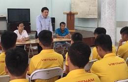 ĐT U16 Việt Nam nhận nhiệm vụ trước khi lên đường dự VCK U16 châu Á