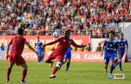 V.League 2016 vòng 18: Thua Than Quảng Ninh, Hải Phòng đánh mất ngôi đầu