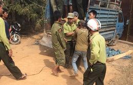 Đắk Lắk: Côn đồ tấn công kiểm lâm cướp gỗ
