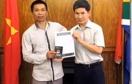 Đại sứ quán Việt Nam tại Nam Phi hỗ trợ công dân Việt Nam gặp nạn