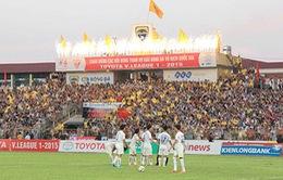 """Trận tranh """"Siêu cúp Quốc gia 2015"""" tổ chức trên sân Thanh Hóa"""