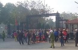 Khởi tố vụ gây rối trật tự công cộng ở Thanh Hóa