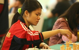 Phạm Lê Thảo Nguyên dẫn đầu giải cờ vua HD Bank 2016