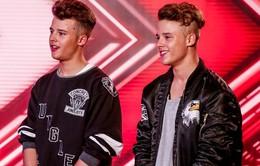 Cặp sinh đôi điển trai gây sốt vòng loại The X-Factor Anh 2016