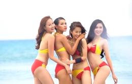 Dàn mẫu The Face Việt Nam đọ dáng sexy với bikini