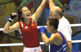 Lừu Thị Duyên giành vé vào bán kết vòng loại Olympic Rio 2016