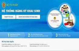 4 thành phố trực thuộc Trung ương thí điểm dùng phần mềm đăng ký khai sinh