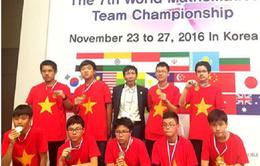Việt Nam giành 20 HCV cuộc thi Vô địch các đội tuyển toán quốc tế