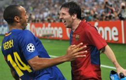 Henry: Thật điên rồ nếu không trao Quả bóng Vàng cho Messi