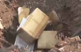Tiêu hủy gần 600kg thịt heo bẩn tại Đăk Lăk